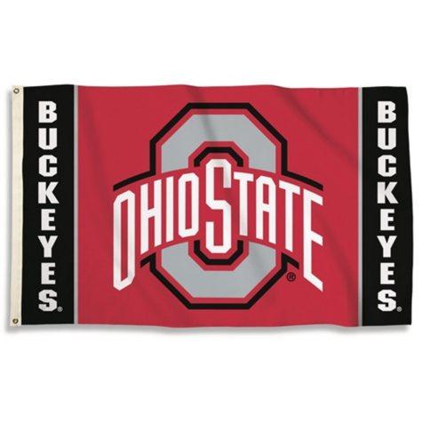 NCAA Ohio State Buckeyes  3' x 5' Flag