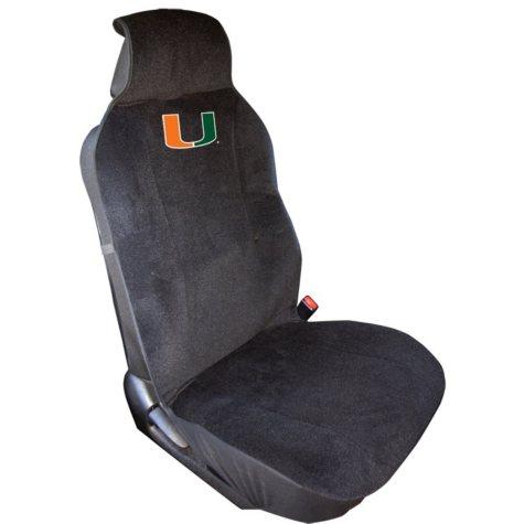 NCAA Miami Hurricanes Seat Cover