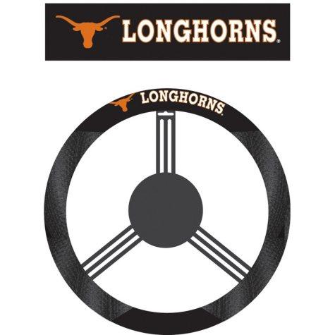 NCAA Texas Longhorns Steering Wheel Cover
