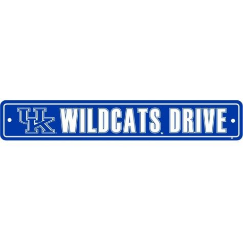 NCAA Kentucky Wildcats Street Sign
