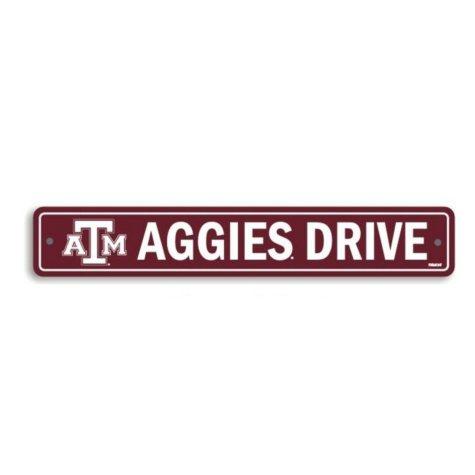 NCAA Texas A&M Aggies Street Sign