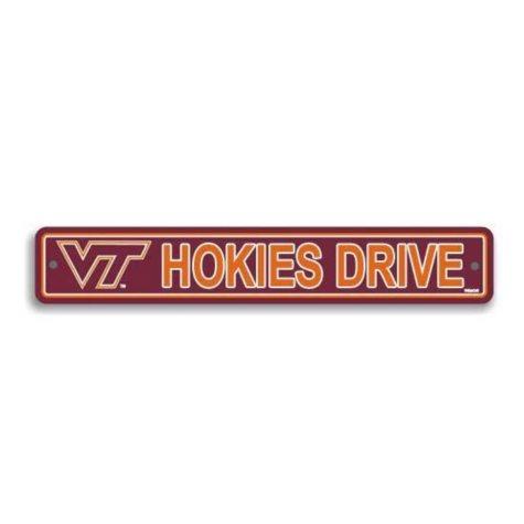 NCAA Virginia Tech Hokies Street Sign