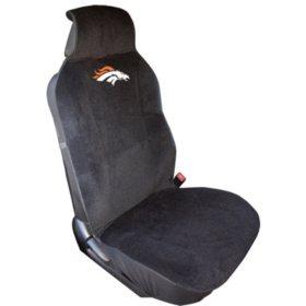 Pleasant Nfl Denver Broncos Seat Cover Sams Club Andrewgaddart Wooden Chair Designs For Living Room Andrewgaddartcom