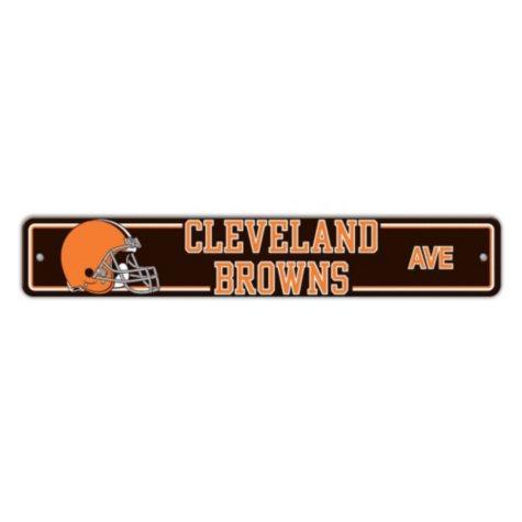 NFL Cleveland Browns Street Sign