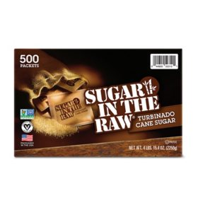 Sugar in the Raw Natural Cane Turbinado Sugar (4.5 g., 500 pk.)