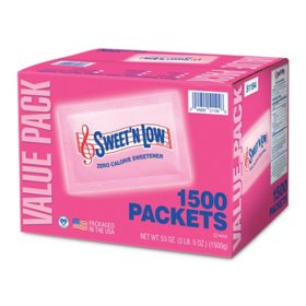 Sweet'N Low (1,500 packets)