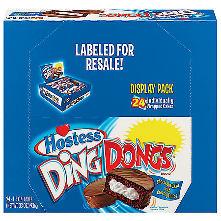 Hostess Ding Dongs (1.27oz / 16pk)