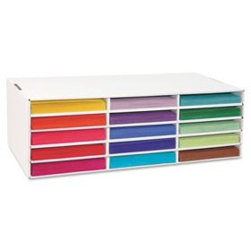 Pacon Classroom Construction Paper Storage Box
