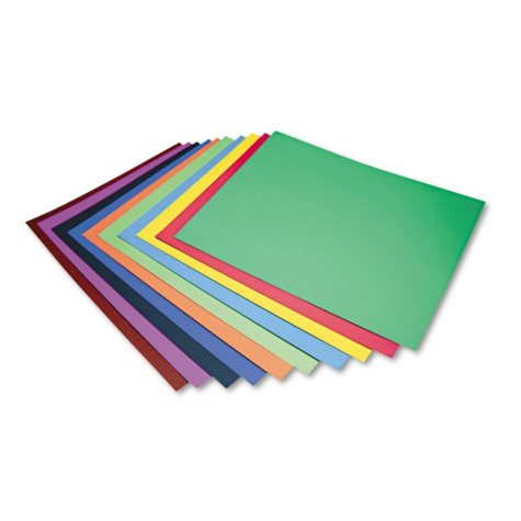 Pacon Four-Ply Poster Board - Assorted Colors