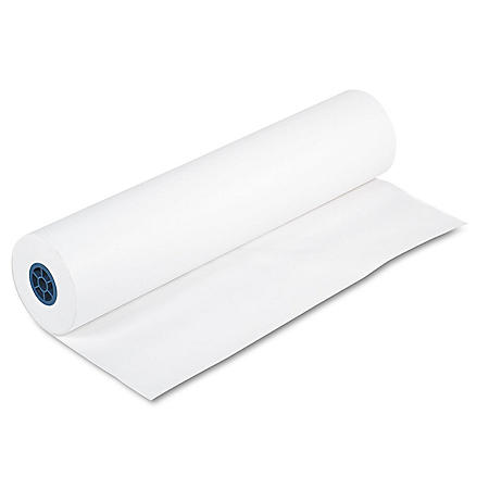 "Pacon - Kraft Paper Roll, 40 lbs., 36"" x 1000 ft -  White"