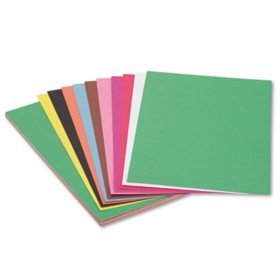 Pacon - Construction Paper, 58 lbs., 12 x 18, Assorted, 50 Sheets per Pack