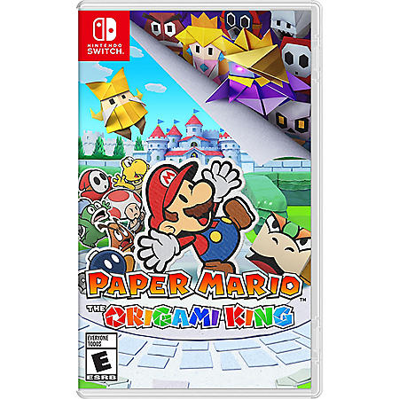 Paper Mario The Origami King - Nintendo
