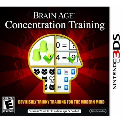 Brain Age: Concentration Training - 3DS