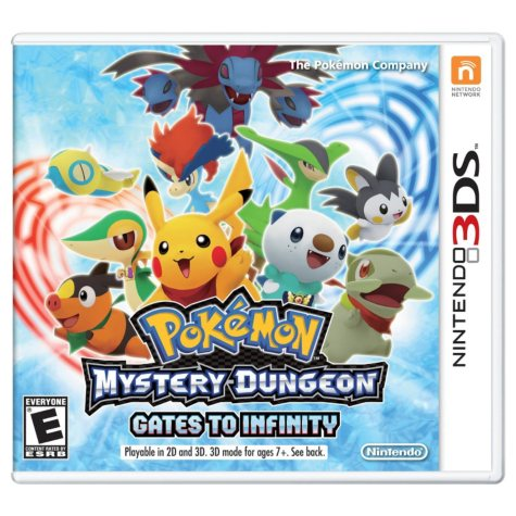Pokemon Mystery Dungeon: Gates of Infinity - 3DS