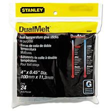 Stanley Bostitch - Dual Temperature Glue Sticks, 4 in Stick -  24/Pack