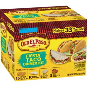 Old El Paso Fiesta Taco Dinner Kit (33 ct.)