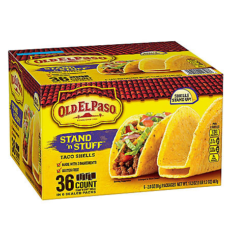 Old El Paso Stand 'n Stuff Taco Shells (36 ct.)