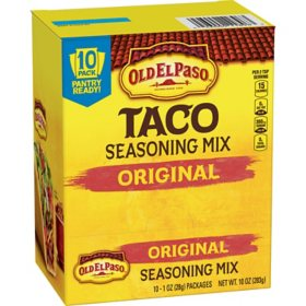 Old El Paso Original Taco Seasoning (1 oz., 10 pk.)