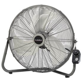 "Lasko Max Performance 20"" High Velocity Floor or Wallmount Fan"