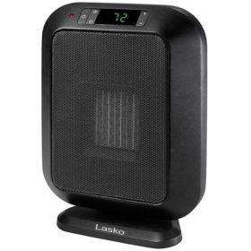 Lasko 6221 Electric 1500-Watt Flat Panel Ceramic Heater