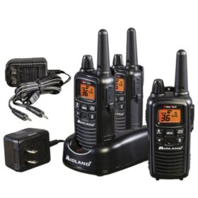 Midland LXT633 Two-Way Extended Range Radios (3 pack)