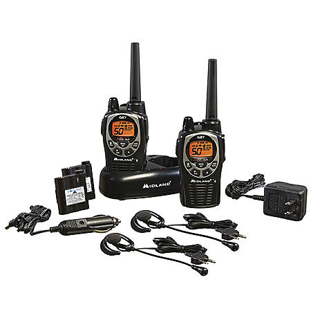 Midland GXT1000 Two-Way Radios (2 pack)