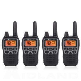 Midland X-Talker 38-Mile Radios T71X4VP3 (4 Pack)