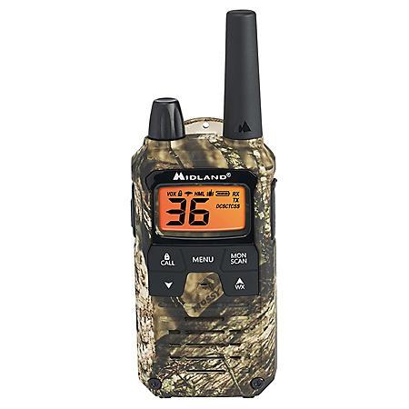 Midland X-Talker 40-Mile Camo Radios T295VP4 (2 Pack)