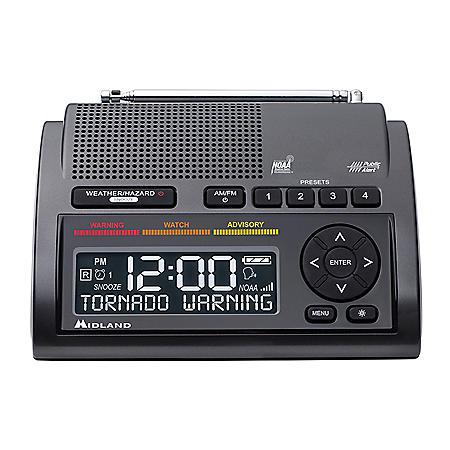 Midland Deluxe WR400 NOAA Weather Alert Radio