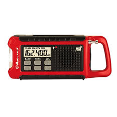 Midland ER210 Emergency Crank Radio