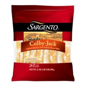 Sargento Colby Jack Snack Sticks (28 ct.)