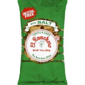 El Ranchero Tortilla Chips with Salt - 14oz