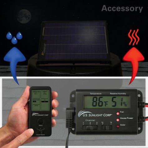 U.S. Sunlight Solar Controller for Solar Attic Fan by Air Vent, Inc.