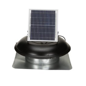 US Sunlight, 9010TR, Black, 10-Watt Solar Attic Fan
