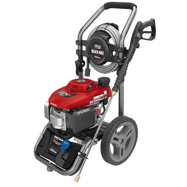 Black Max 2,700 PSI Gasoline Pressure Washer - Powered by Honda