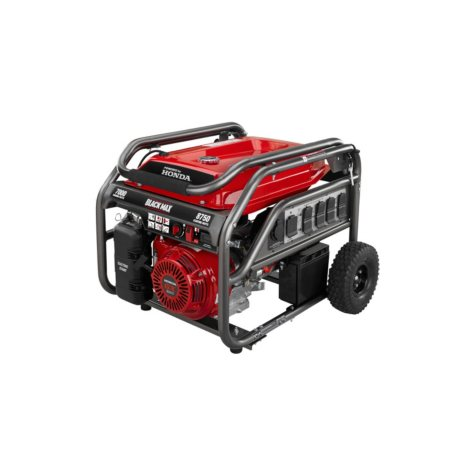 Black Max 7,000W / 8,750W Honda Powered Portable Gas Powered Generator w/ Electric Start