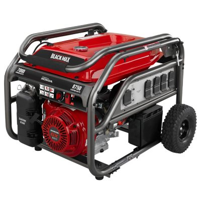 [WLLP_2054]   Black Max 7,000 / 8,750 Watt Electric Start Gas Generator (Powered by Honda)  - Sam's Club   Black Max Generator Wiring Schematic      Sam's Club