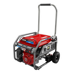 Black Max 7,500/ 9,375 Honda Portable-Gas Powered Generator w/ Electric Start - CARB Approved
