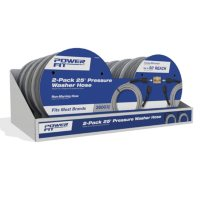 Deals on 2 Pack PowerFit 25-ft. 3600 PSI Pressure Washer Hose
