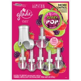 Glade PlugIns Scented Oil Refills + Warmer (Choose Your Scent)