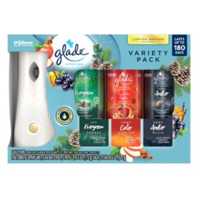 Glade Auto Spray 1+3 Fall (Choose Your Scent)
