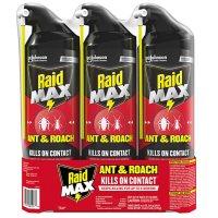 Raid Max Ant and Roach Killer 3ct, 14.5 oz