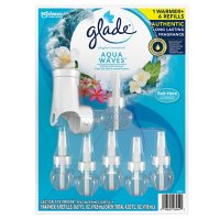Glade PlugIns Scented Oil, Warmer + 6 Refills (Choose Your Scent)