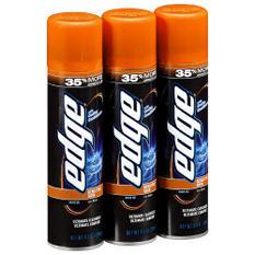 Edge Advanced Shave Gel (9.5 oz., 3 pk.)