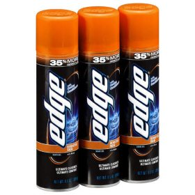 Edge Advanced Shave Gel (9.5 oz., 3 pk.)