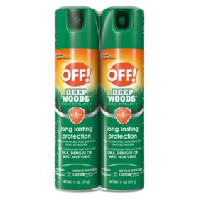 Off! Deep Woods Insect Repellent, 2-Pack (11 oz.)