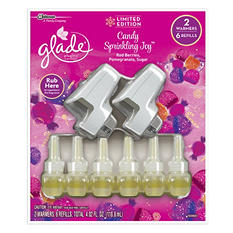 Glade PlugIns 2 Warmers + 6 Refills