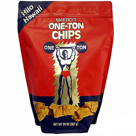Maebo's One-Ton Chips (20 oz.)