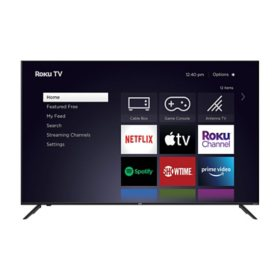 "JVC 65"" Class Elite Series 4k Ultra HD ROKU Smart TV - LT-65MAW705"