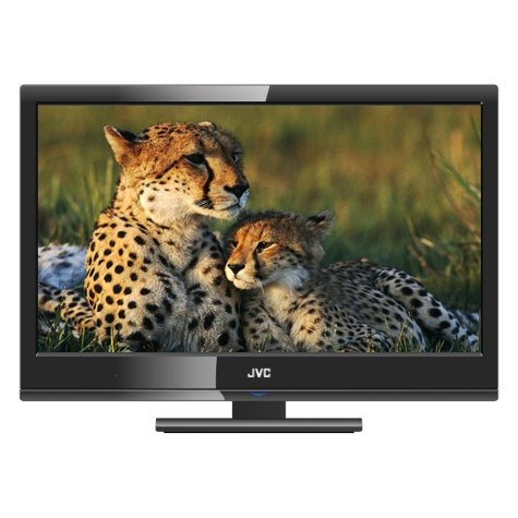 """22"""" JVC LED 1080p HDTV/DVD Combo"""